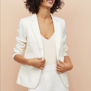NWT H&M White Blazer